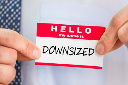 Name Tag, Greeting, Hello. my name is Downsized