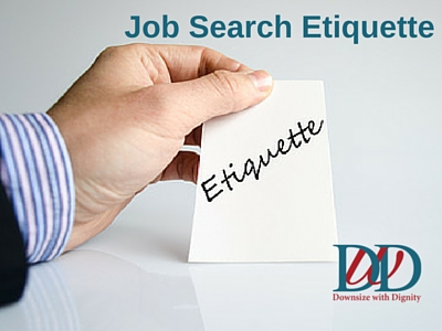 job search etiquette