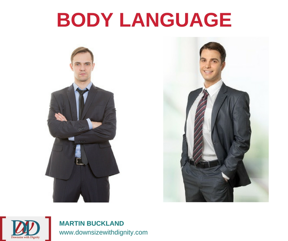 Body Language | Downsize With Dignity  |Positive Body Language